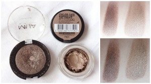 bronze eyeshadows