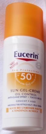Eucerin Sun Gel-Creme Oil Control SPF 50