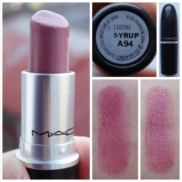 MAC Lustre Lipstick in Syrup