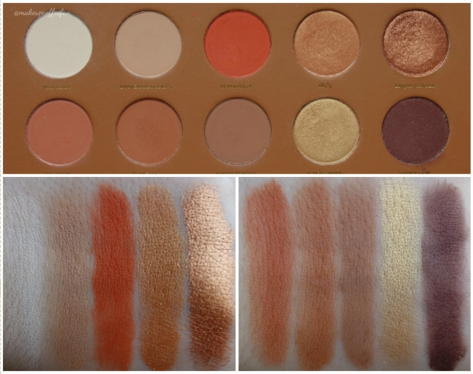 Zoeva Caramel Melange Palette u2013 Review and Swatches ...