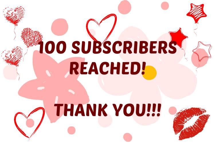 100subcribers